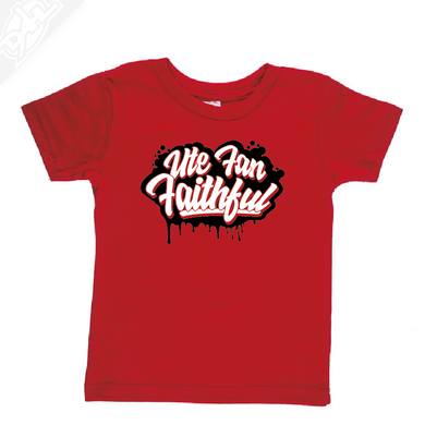 Ute Fan Faithful Script - Infant/Toddler Shirt