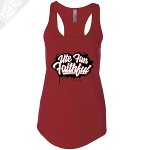Ute Fan Faithful Script - Womens Tank Top