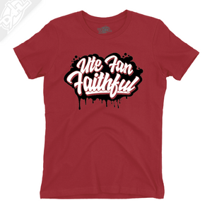 Ute Fan Faithful Script - Girls T-Shirt
