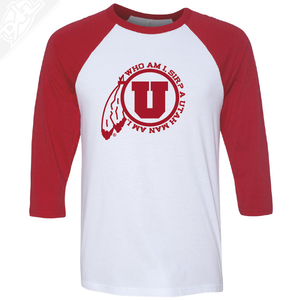 Utah Man Am I - 3/4 Sleeve Baseball Shirt