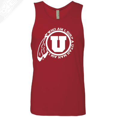 Utah Man Am I- Mens Tank Top