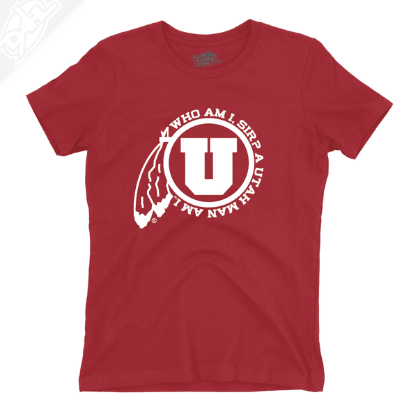 Utah Man Am I - Girls T-Shirt
