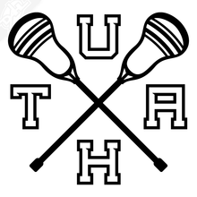 Load image into Gallery viewer, UTAH Lacrosse Vinyl Decal