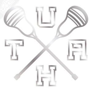 UTAH Lacrosse Vinyl Decal