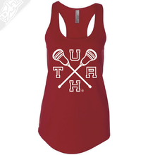 Load image into Gallery viewer, UTAH Lacrosse Sticks - Womens Tank Top
