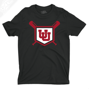 Interlocking UU Baseball - Boys T-Shirt