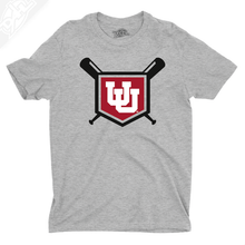 Load image into Gallery viewer, Interlocking UU Baseball - Mens T-Shirt