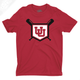 Interlocking UU Baseball - Mens T-Shirt
