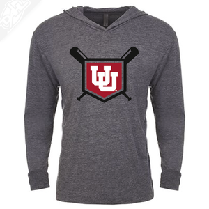 Interlocking UU Baseball - T-Shirt Hoodie