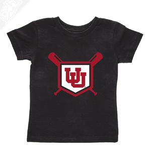 Interlocking UU Baseball- Infant/Toddler Shirt