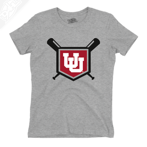 Interlocking UU Baseball - Girls T-Shirt