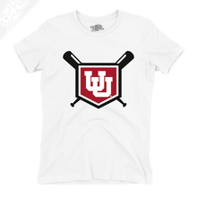 Load image into Gallery viewer, Interlocking UU Baseball - Girls T-Shirt