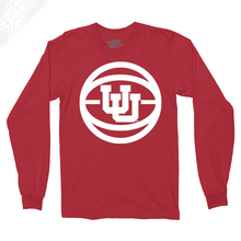 Load image into Gallery viewer, Interlocking UU Basketball - Long Sleeve