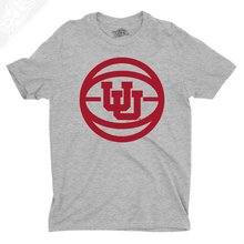 Load image into Gallery viewer, Interlocking UU Basketball - Mens T-Shirt