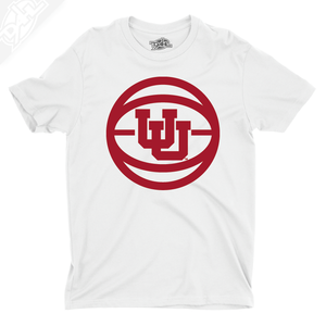 Interlocking UU Basketball - Mens T-Shirt