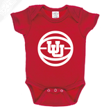 Interlocking UU Basketball - Onesie