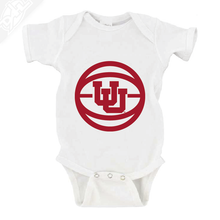 Load image into Gallery viewer, Interlocking UU Basketball - Onesie