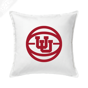 Interlocking UU Basketball - Pillow