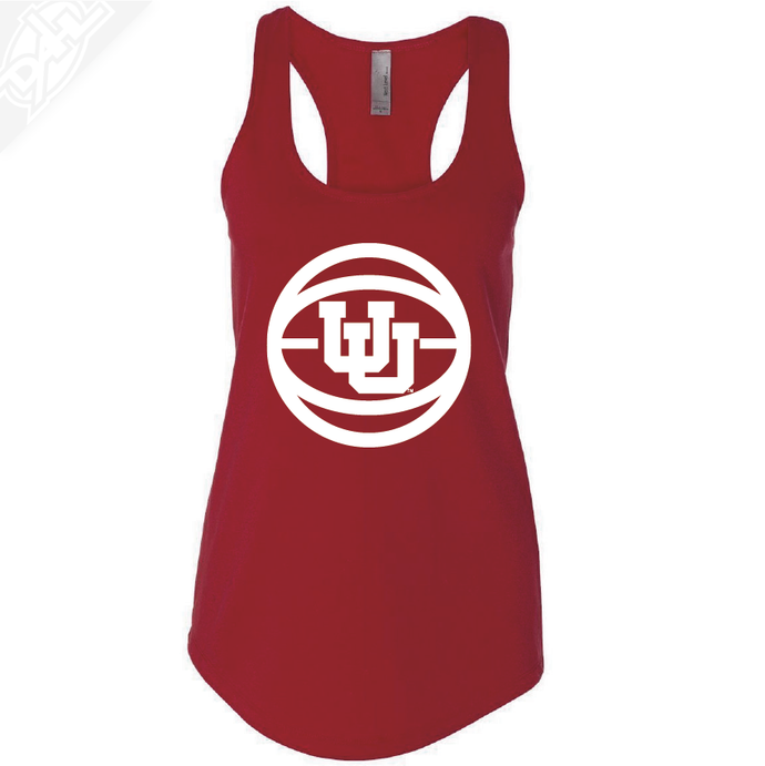 Interlocking UU Basketball- Womens Tank Top