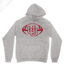Interlocking UU Football Single Color - Hoodie