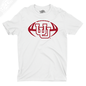 Interlocking UU Football Single Color - Boys T-Shirt