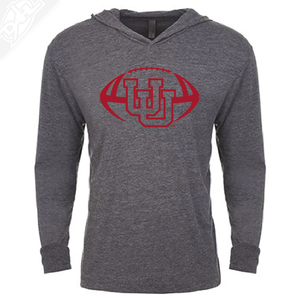 Interlocking UU Football Single Color - T-Shirt Hoodie