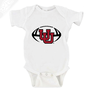 Interlocking UU Football - Onesie