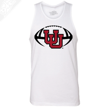 Load image into Gallery viewer, Interlocking UU Football- Mens Tank Top