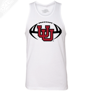 Interlocking UU Football- Mens Tank Top