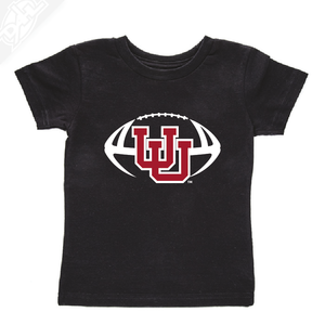 Interlocking UU Football- Infant/Toddler Shirt