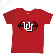 Load image into Gallery viewer, Interlocking UU Football- Infant/Toddler Shirt