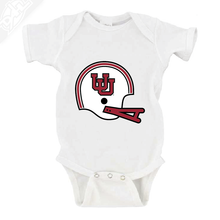 Load image into Gallery viewer, Interlocking UU Vintage Helmet - Onesie
