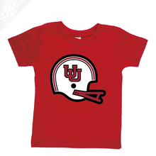 Load image into Gallery viewer, Interlocking UU Vintage Helmet- Infant/Toddler Shirt