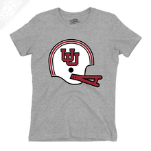 Load image into Gallery viewer, Interlocking UU Vintage Helmet - Girls T-Shirt