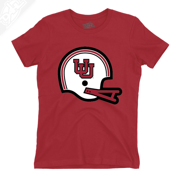 Interlocking UU Vintage Helmet - Womens T-Shirt