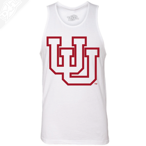 Interlocking UU Outlined- Mens Tank Top