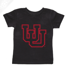 Load image into Gallery viewer, Interlocking UU Outlined- Infant/Toddler Shirt