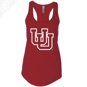 Interlocking UU Outlined- Womens Tank Top