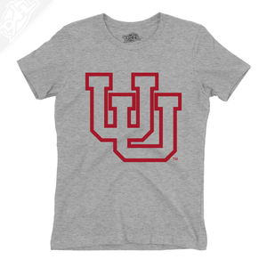 Interlocking UU Outlined - Girls T-Shirt