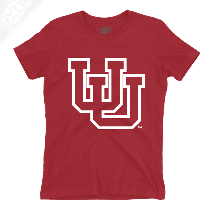 Interlocking UU Outlined - Womens T-Shirt