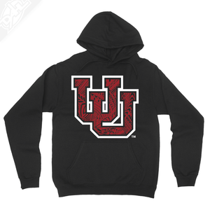 Interlocking UU Poly Pattern - Hoodie