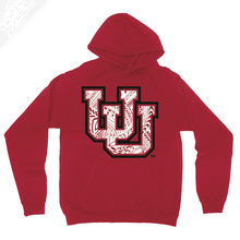 Load image into Gallery viewer, Interlocking UU Poly Pattern - Hoodie
