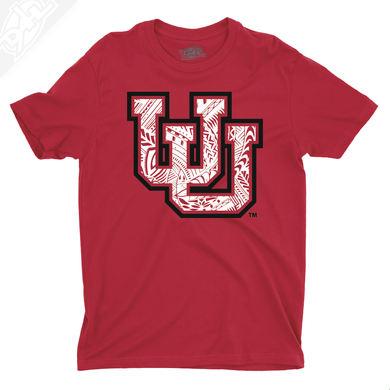 Interlocking UU Poly Pattern - Boys T-Shirt