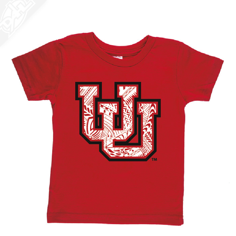 Interlocking UU Poly Pattern- Infant/Toddler Shirt