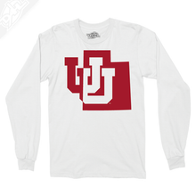 Load image into Gallery viewer, Interlocking UU State - Long Sleeve