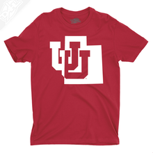 Interlocking UU State - Boys T-Shirt