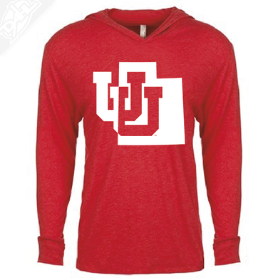 Interlocking UU State - T-Shirt Hoodie