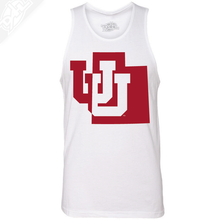 Interlocking UU State- Mens Tank Top