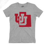 Interlocking UU State - Girls T-Shirt