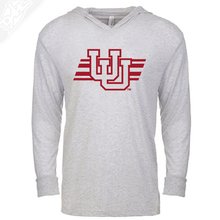 Interlocking UU w/Utah Stripe Single Color - T-Shirt Hoodie